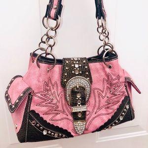 Handbags - Pink shoulder bag
